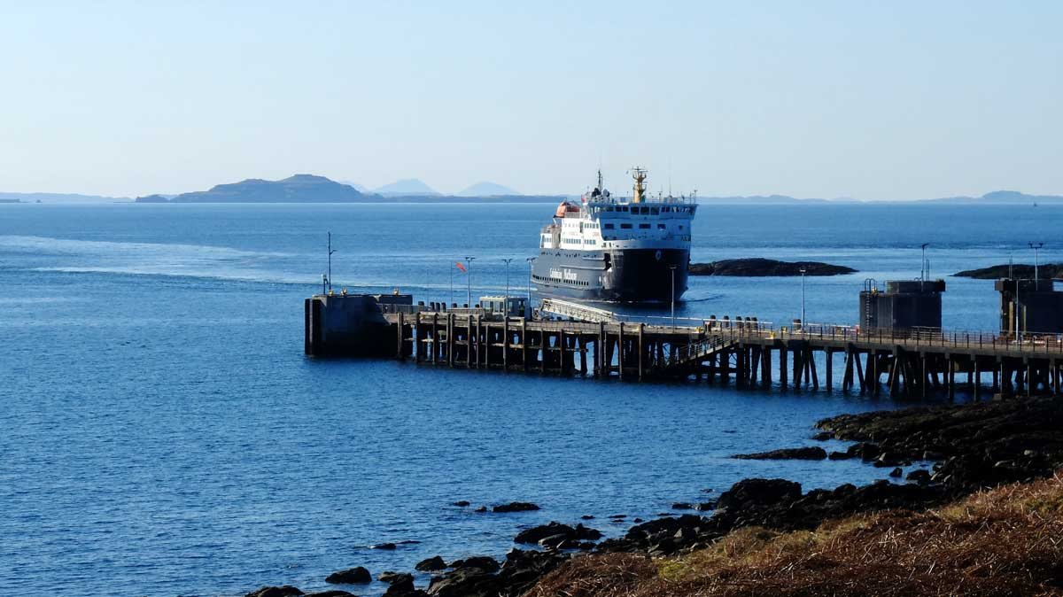 Getting to Coll by ferry