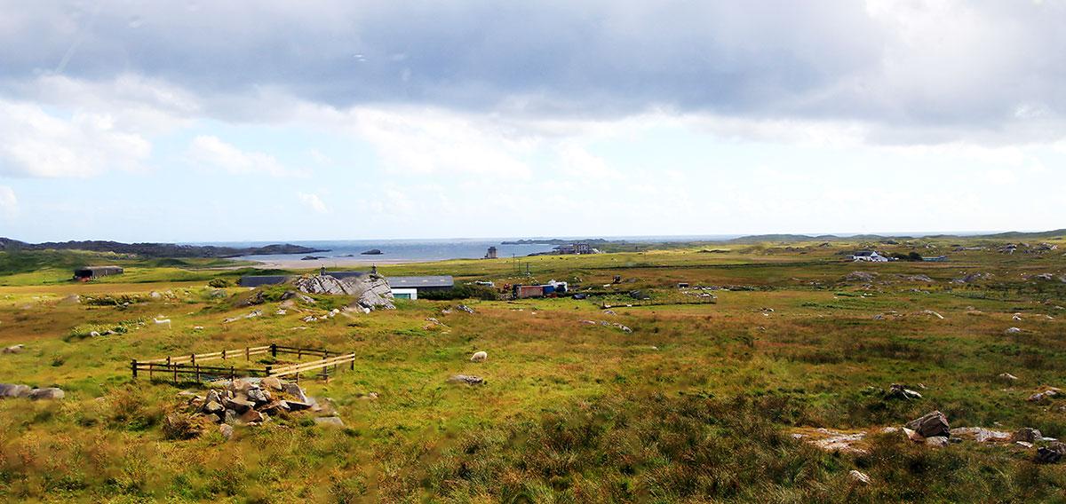 View to Breachacha Bay